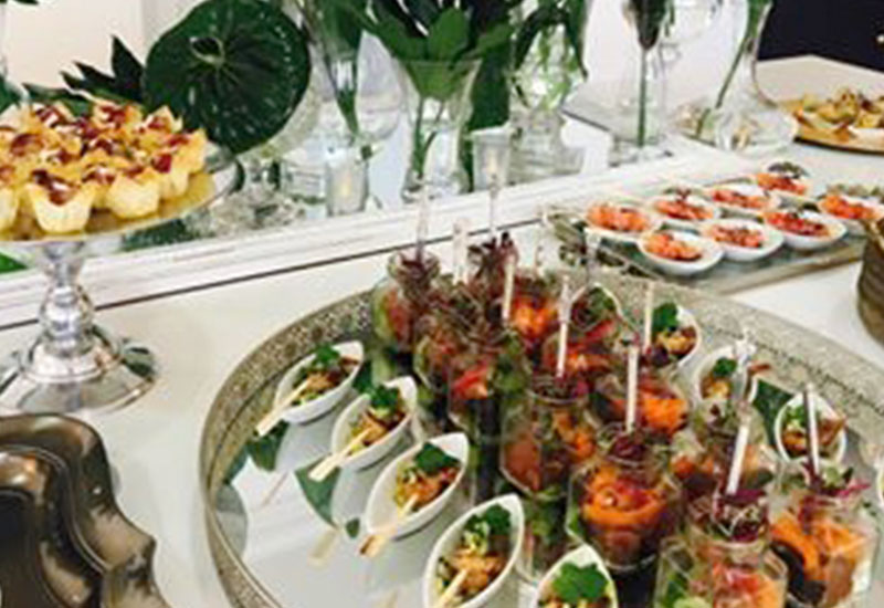 Laura Truter private catering services for parties and events