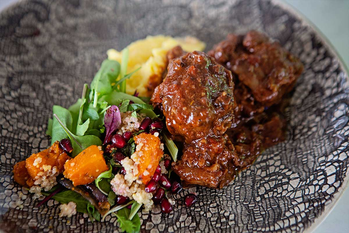 Laura Truter private catering oxtail gremolata recipe
